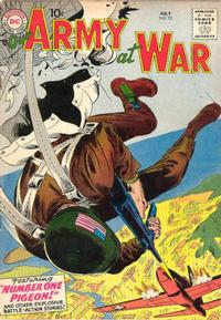 Cover Thumbnail for Our Army at War (DC, 1952 series) #72