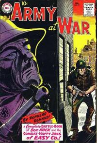 Cover Thumbnail for Our Army at War (DC, 1952 series) #91