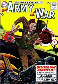 Cover Thumbnail for Our Army at War (DC, 1952 series) #93