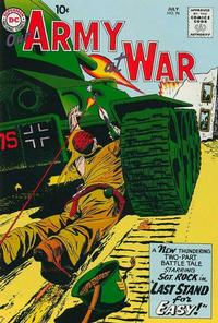 Cover Thumbnail for Our Army at War (DC, 1952 series) #96