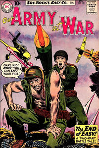 Cover Thumbnail for Our Army at War (DC, 1952 series) #101