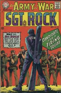 Cover Thumbnail for Our Army at War (DC, 1952 series) #184
