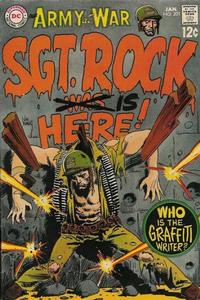 Cover Thumbnail for Our Army at War (DC, 1952 series) #201