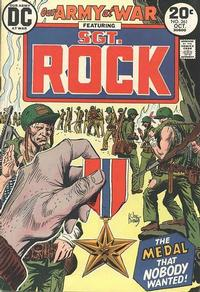 Cover Thumbnail for Our Army at War (DC, 1952 series) #261