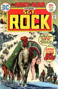 Cover Thumbnail for Our Army at War (DC, 1952 series) #281