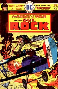 Cover Thumbnail for Our Army at War (DC, 1952 series) #286