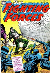 Cover Thumbnail for Our Fighting Forces (DC, 1954 series) #2