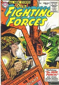 Cover for Our Fighting Forces (DC, 1954 series) #5