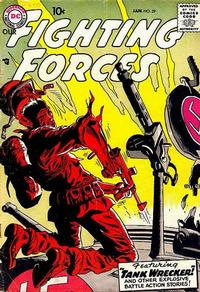 Cover Thumbnail for Our Fighting Forces (DC, 1954 series) #29
