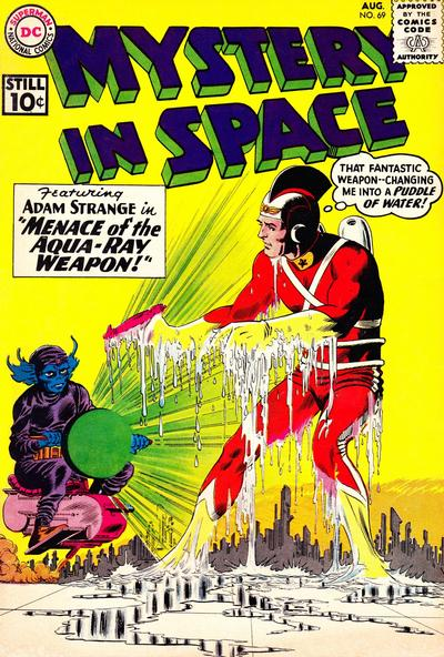 Cover for Mystery in Space (DC, 1951 series) #69