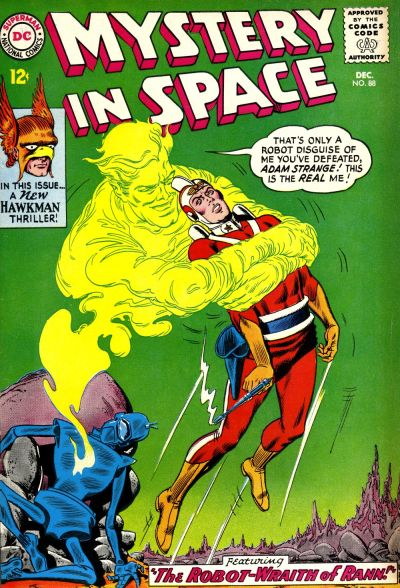 Cover for Mystery in Space (DC, 1951 series) #88