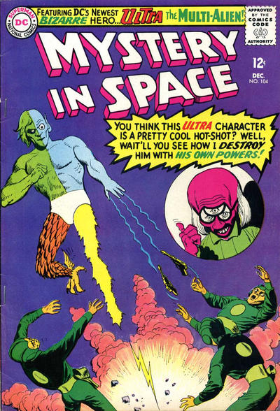 Cover for Mystery in Space (DC, 1951 series) #104