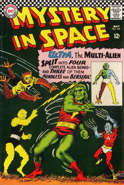 Cover for Mystery in Space (DC, 1951 series) #107