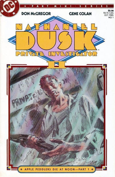 Cover for Nathaniel Dusk II (DC, 1985 series) #1