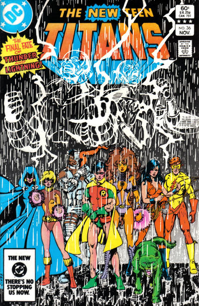 Cover for The New Teen Titans (DC, 1980 series) #36 [Direct]