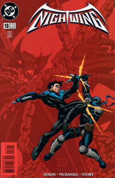 Cover for Nightwing (1996 series) #18