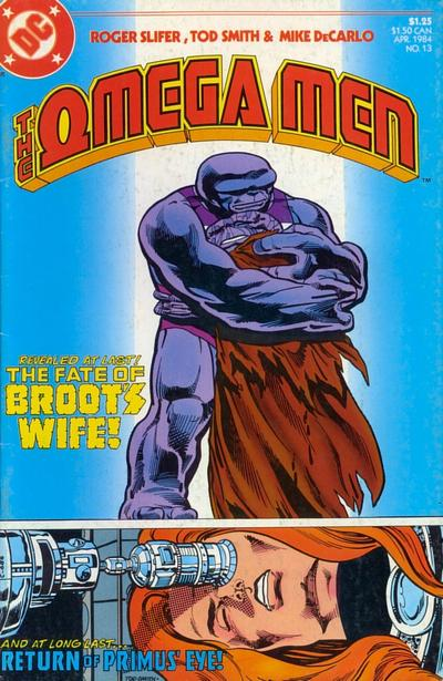 Cover for The Omega Men (DC, 1983 series) #13