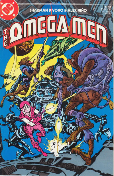 Cover for The Omega Men (DC, 1983 series) #21