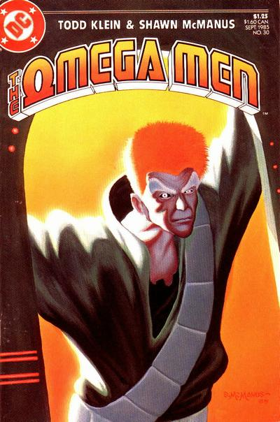 Cover for The Omega Men (DC, 1983 series) #30