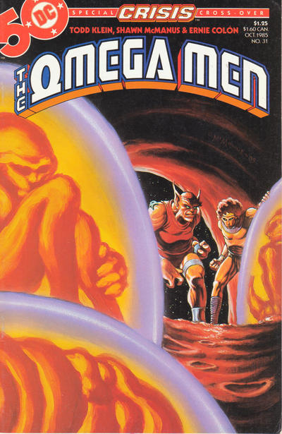 Cover for The Omega Men (DC, 1983 series) #31