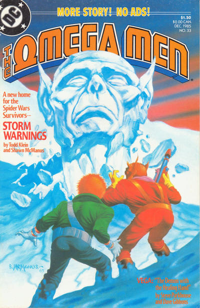 Cover for The Omega Men (DC, 1983 series) #33