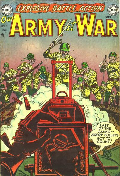 Cover for Our Army at War (1952 series) #2