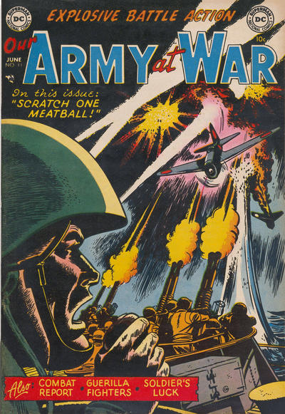 Cover for Our Army at War (DC, 1952 series) #11
