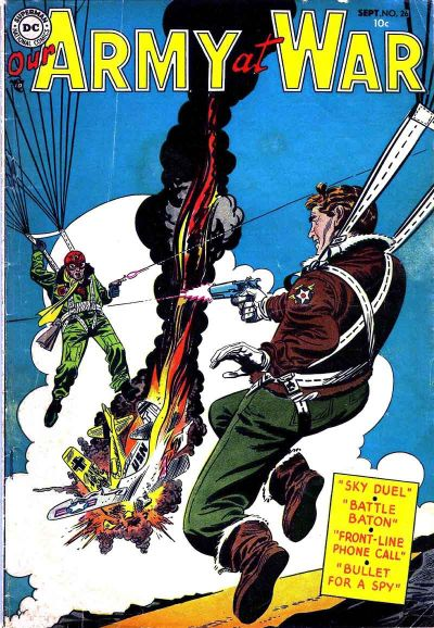 Cover for Our Army at War (1952 series) #26