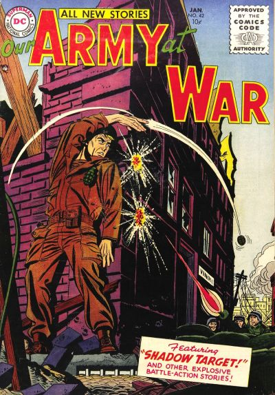 Cover for Our Army at War (DC, 1952 series) #42