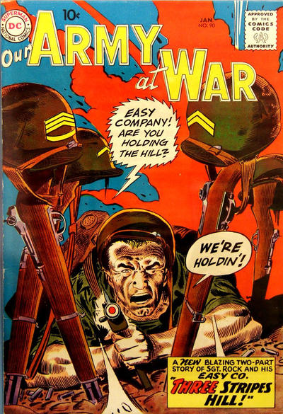 Cover for Our Army at War (DC, 1952 series) #90