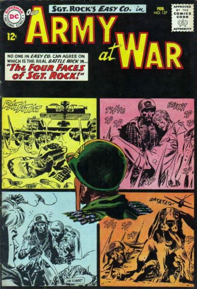 Cover for Our Army at War (DC, 1952 series) #127