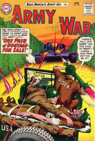 Cover for Our Army at War (1952 series) #131