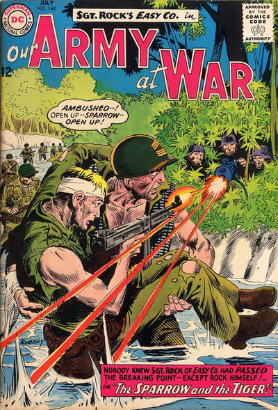 Cover for Our Army at War (1952 series) #144