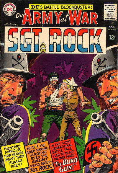 Cover for Our Army at War (DC, 1952 series) #159