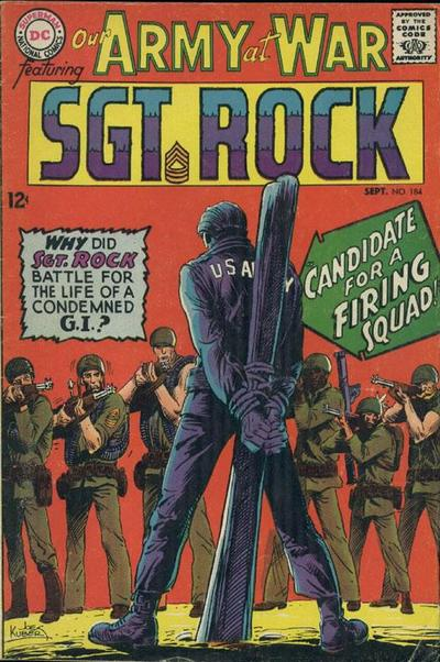Cover for Our Army at War (DC, 1952 series) #184