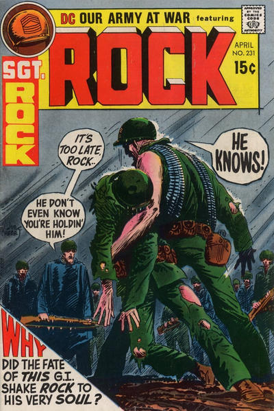 Cover for Our Army at War (DC, 1952 series) #231