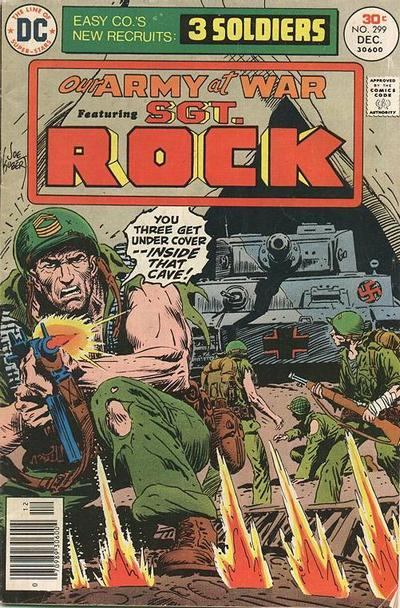 Cover for Our Army at War (DC, 1952 series) #299