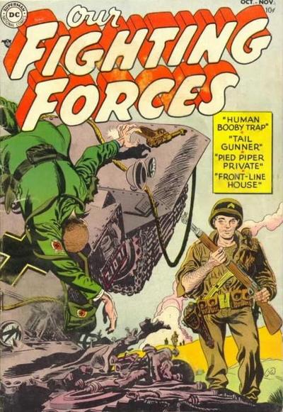 Cover for Our Fighting Forces (DC, 1954 series) #1