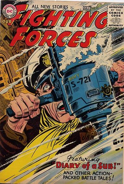 Cover for Our Fighting Forces (DC, 1954 series) #11
