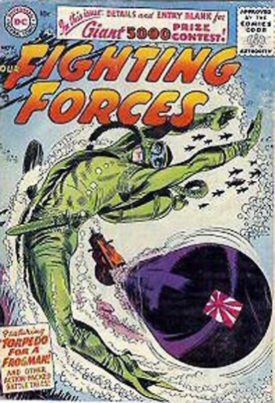 Cover for Our Fighting Forces (DC, 1954 series) #15