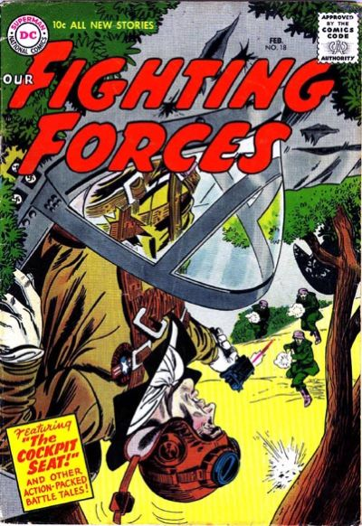 Cover for Our Fighting Forces (DC, 1954 series) #18