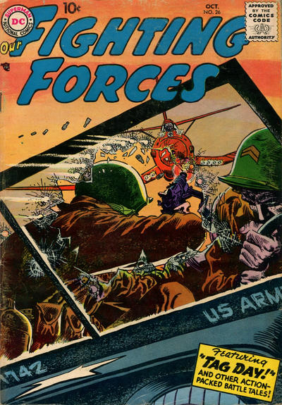 Cover for Our Fighting Forces (DC, 1954 series) #26