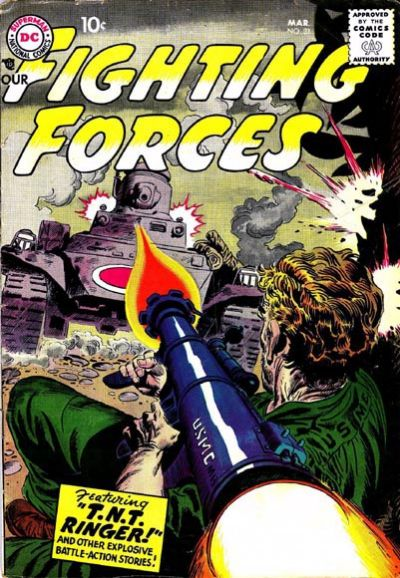 Cover for Our Fighting Forces (DC, 1954 series) #31