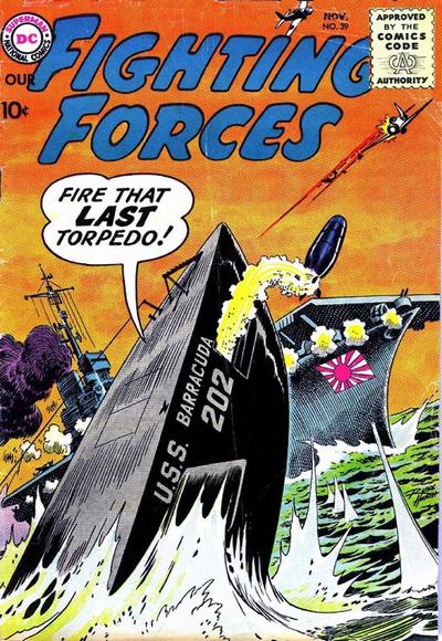 Cover for Our Fighting Forces (DC, 1954 series) #39