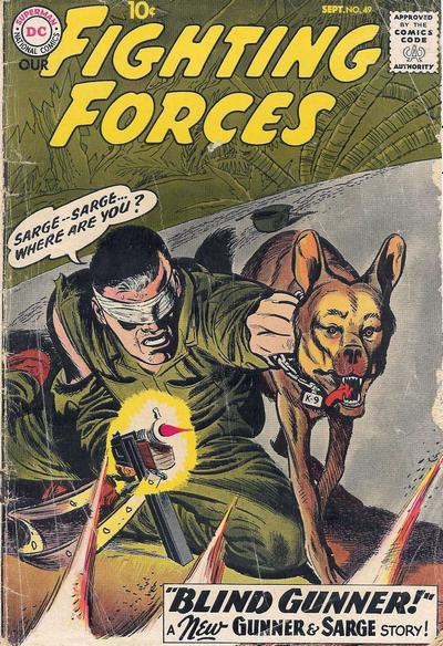 Cover for Our Fighting Forces (DC, 1954 series) #49