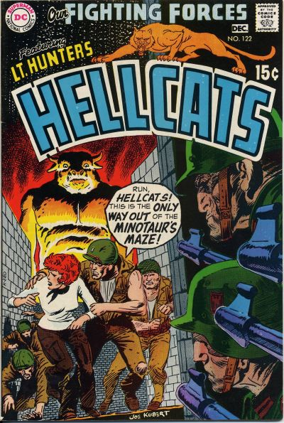 Cover for Our Fighting Forces (DC, 1954 series) #122