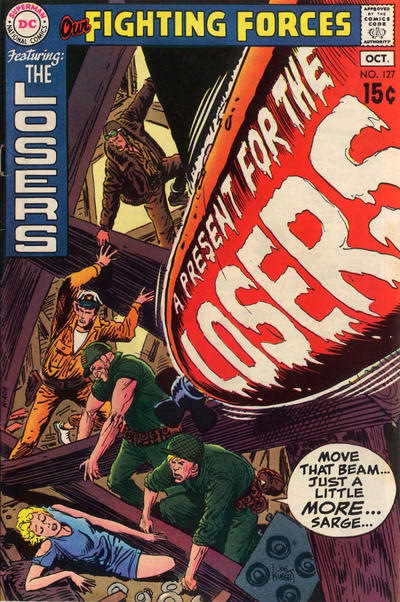 Cover for Our Fighting Forces (DC, 1954 series) #127