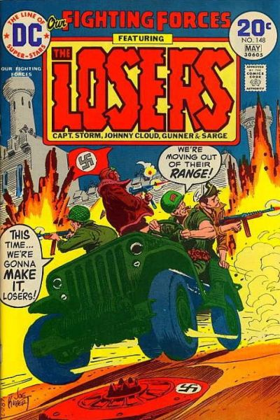 Cover for Our Fighting Forces (DC, 1954 series) #148