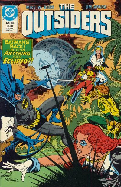 Cover for The Outsiders (DC, 1985 series) #18