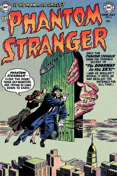 Cover for The Phantom Stranger (1952 series) #6